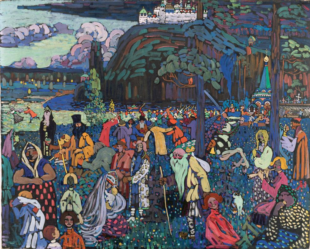 Wassily Kandinsky. Colorful life