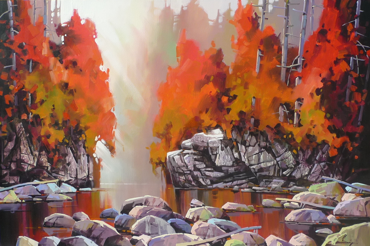 Би Ян Чэн. Золотой октябрь
