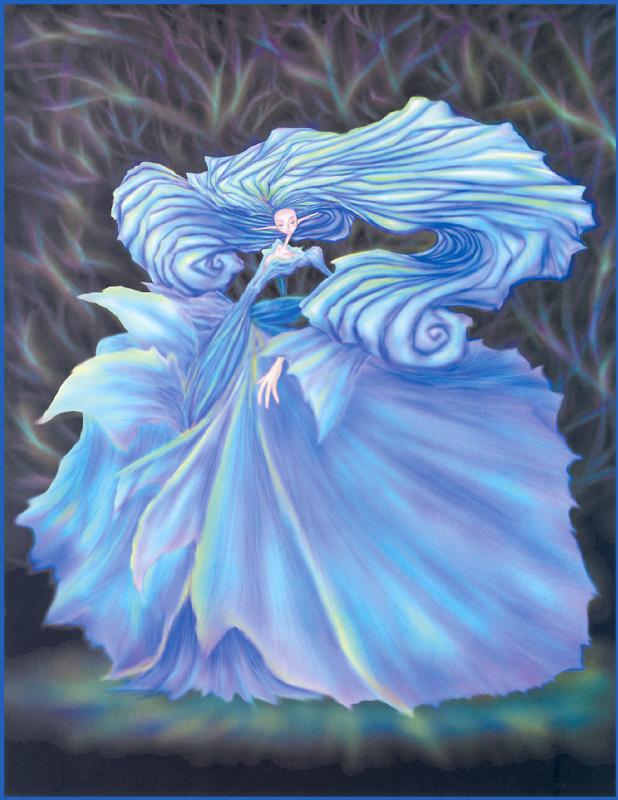 Рю Такеучи. Королева голубой розы
