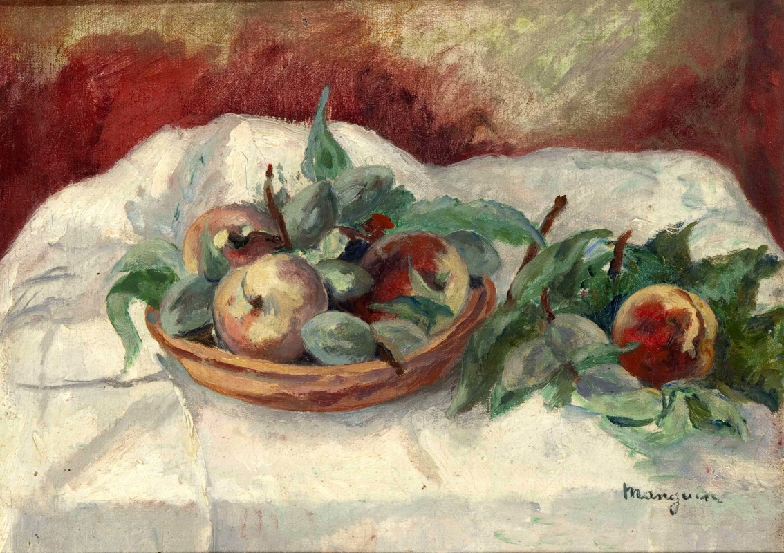 Henri Manguin. The still-life with fruits