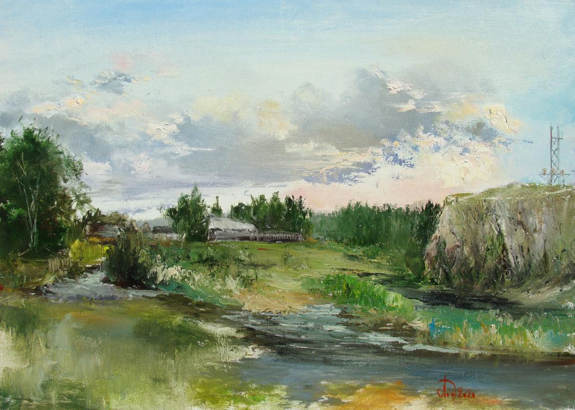 Alexander Alekseevich Lednev. Daria River