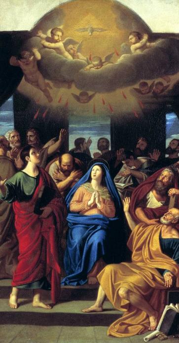 Алексей Егорович Егоров. Сошествие Святого Духа на апостолов. 1811