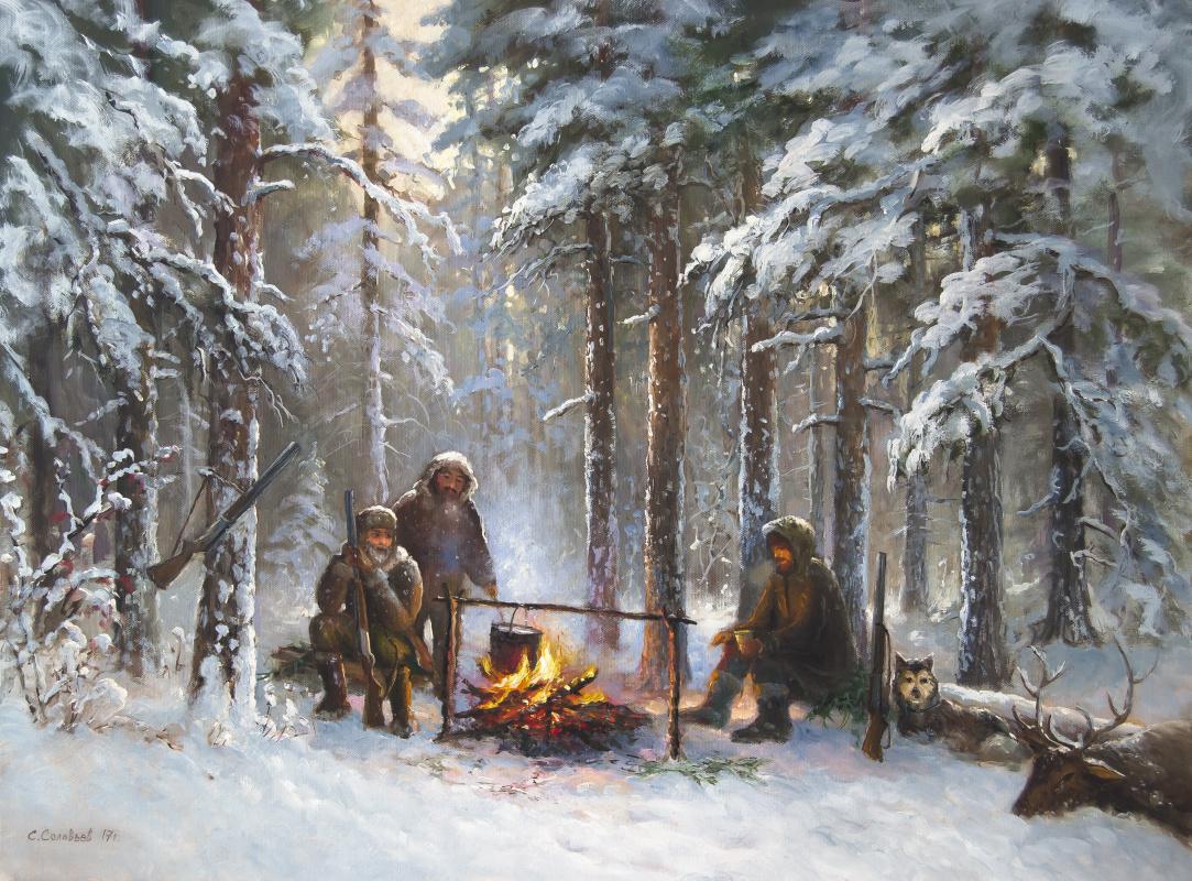 Sergey Nikolaevich Solovyov. Tales of an old hunter