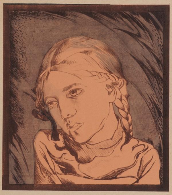 Mikhail Ivanovich the Beetle. Portrait of a girl