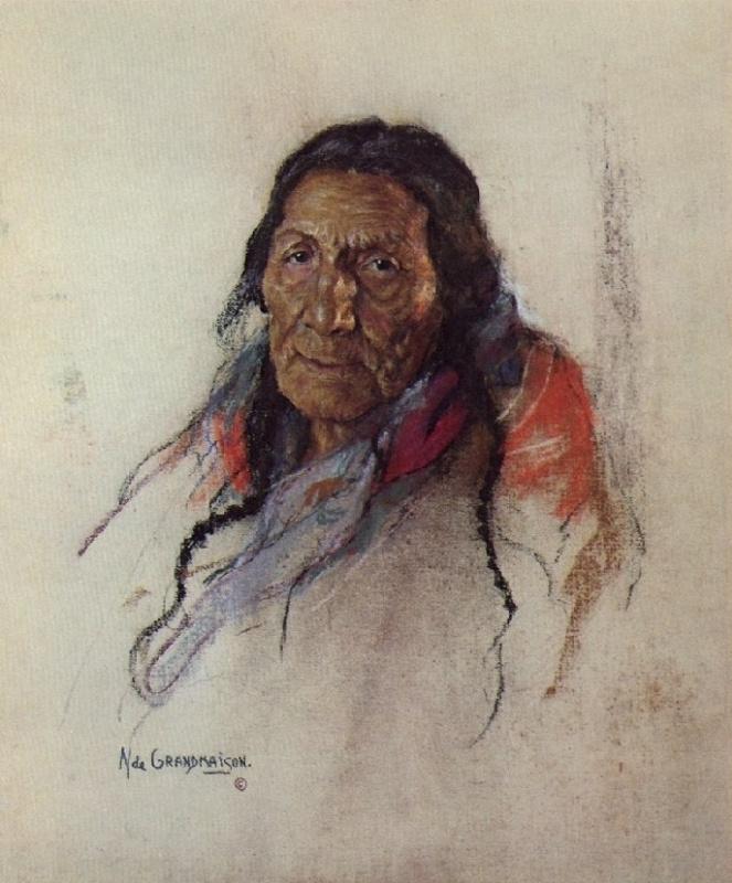 Индейский портрет 61