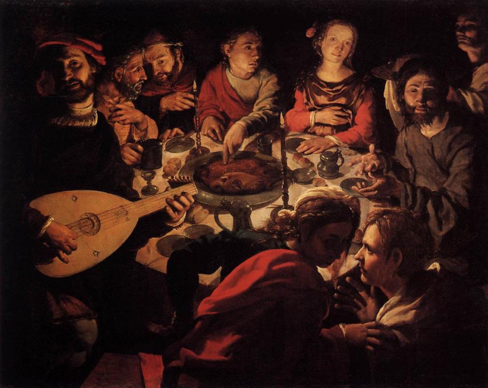 Jan Cornelis Vermein. Marriage in Cana