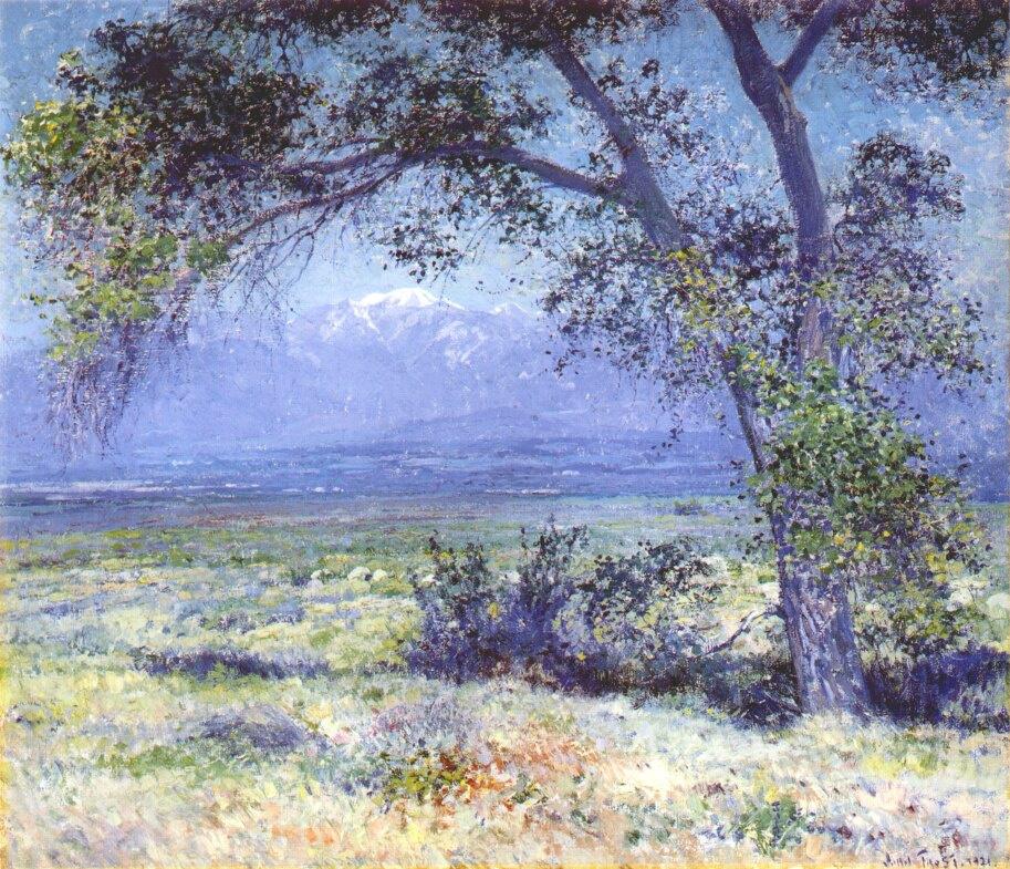 Джон Фрост. Калифорнийский пейзаж