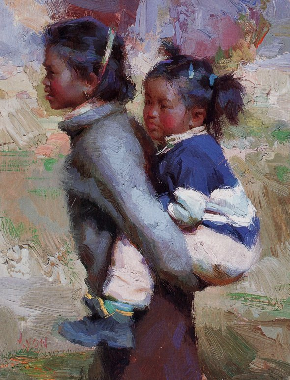 Сьюзан Лион. Сестры в Тьянгбоче