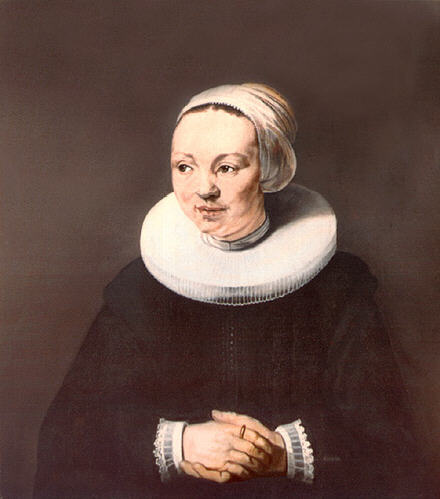 Карел Фабрициус. Портрет женщины