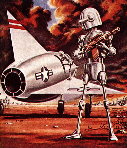 Джо Юско. Робот