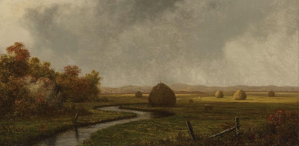 Martin Johnson Head. Autumn in the marshes
