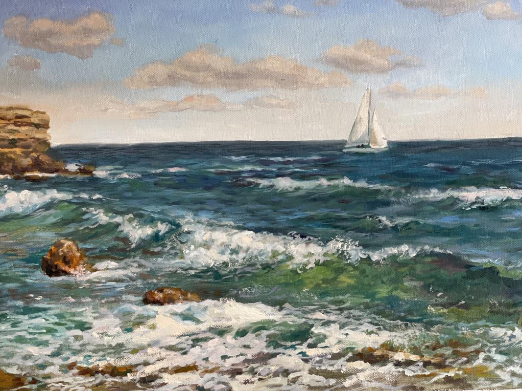 Elena Samusenko. Sea