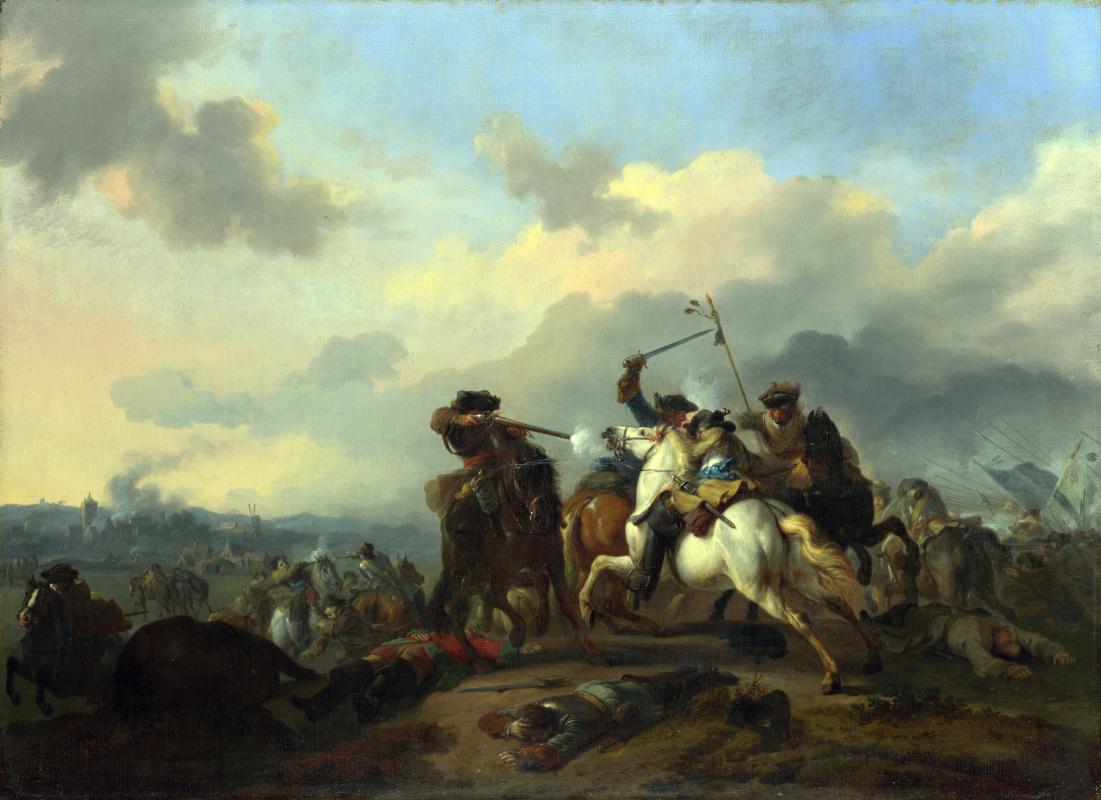 Ян ван Хачтенберг. Битва