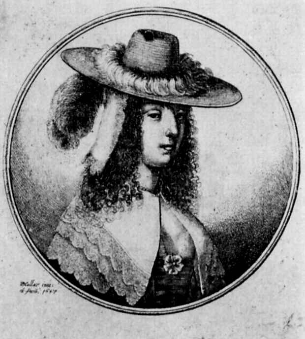 Венцель Холлар. Знатная дама из Антверпена