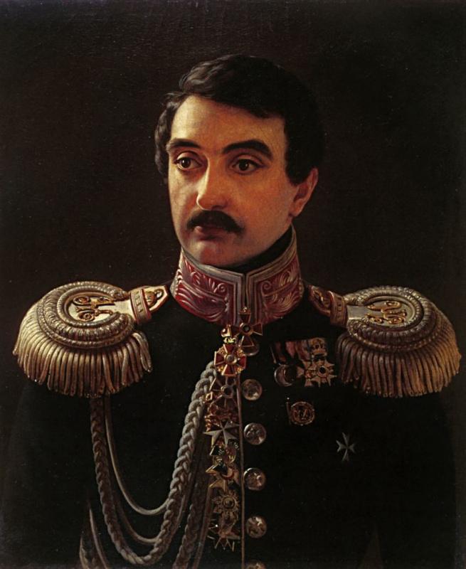 Алексей Васильевич Тыранов. Портрет композитора А. Ф. Львова
