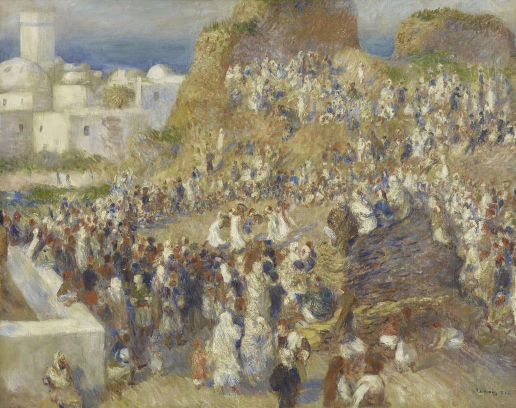 Пьер Огюст Ренуар. Мечеть. Арабский праздник