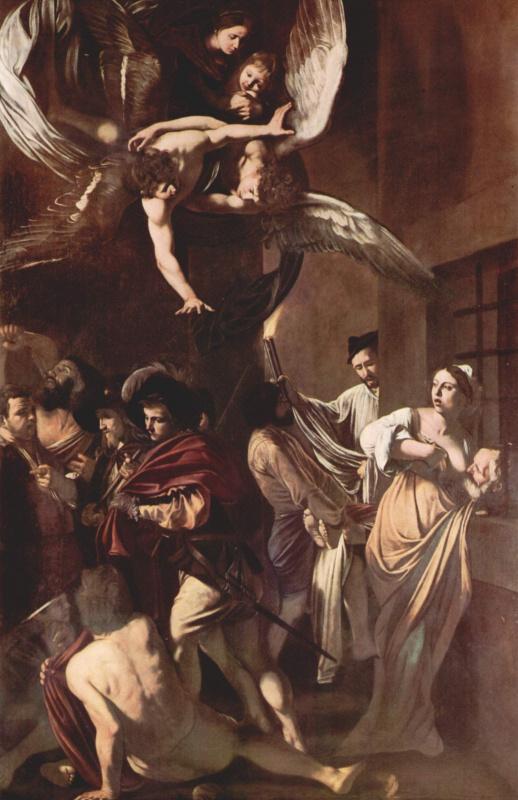 Michelangelo Merisi de Caravaggio. Seven acts of mercy