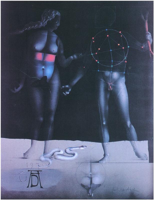 Пол Вундерлих. Мужчина и женщина