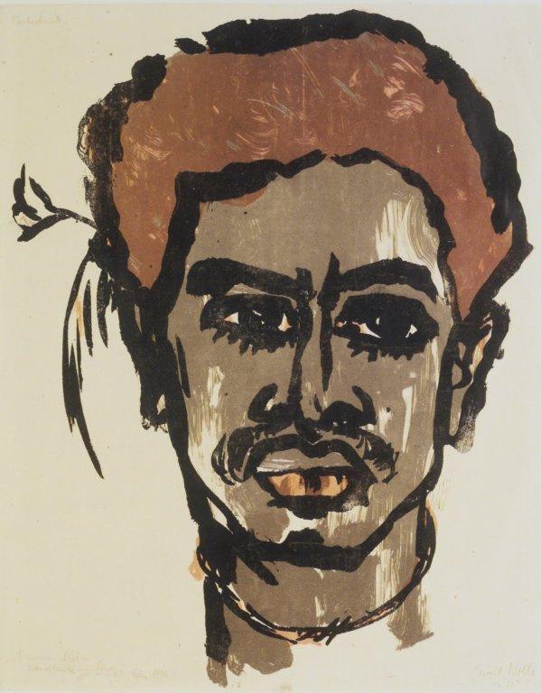 Эмиль Нольде. Портрет жителя Южного острова