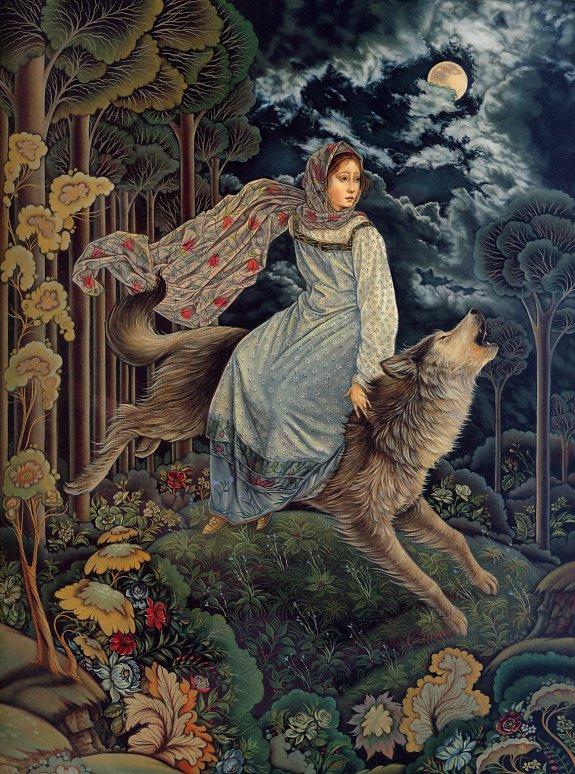 Laurel Long. Wolf