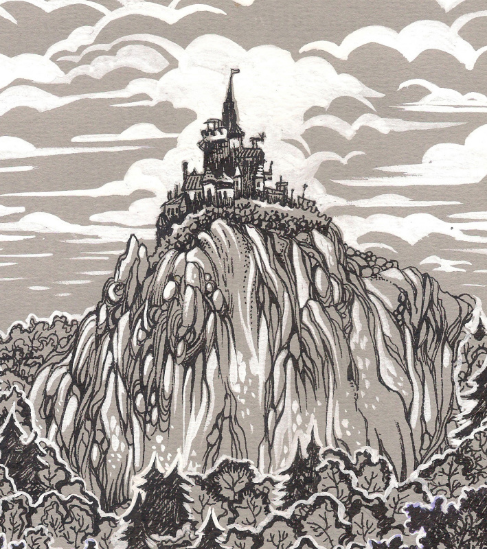 Хиус Мазур. Горный замок