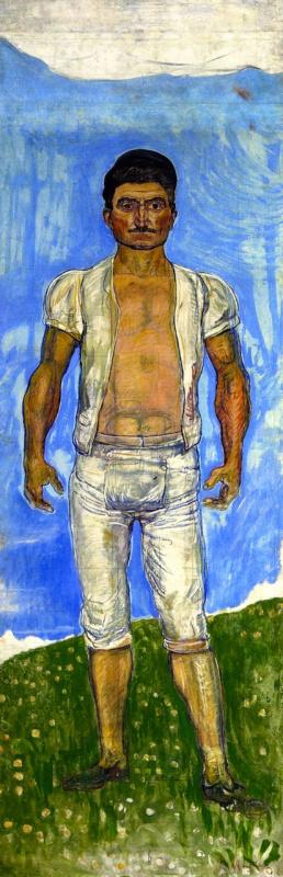 Фердинанд Ходлер. Рыбак