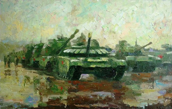 Михаил Рудник. Tanks