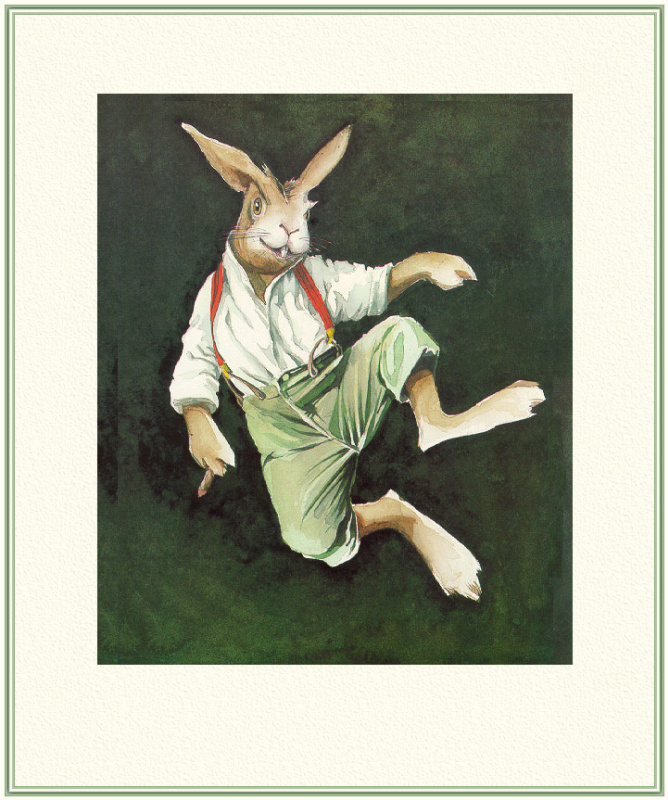 Барри Мосер Брер. Кролик