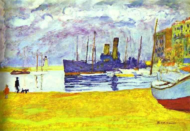 Pierre Bonnard. Port