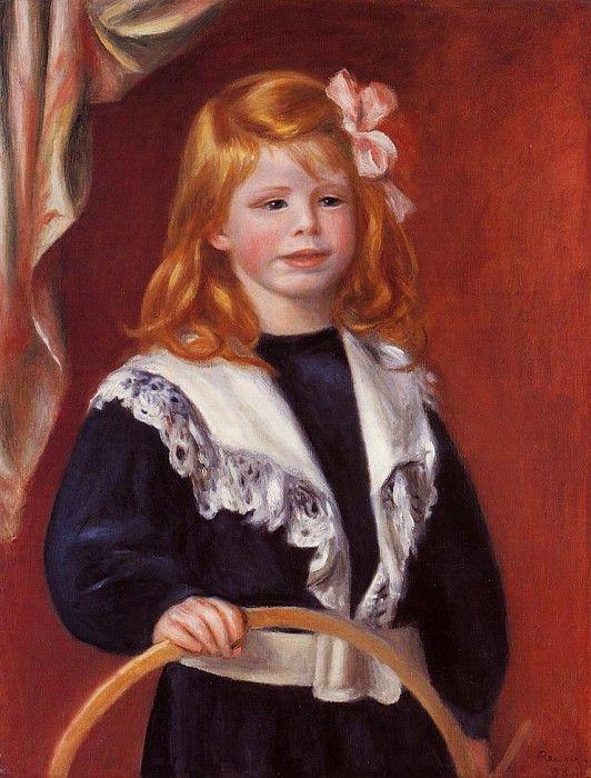 Pierre-Auguste Renoir. Portrait of Jean Renoir (or a Child with a Hoop)