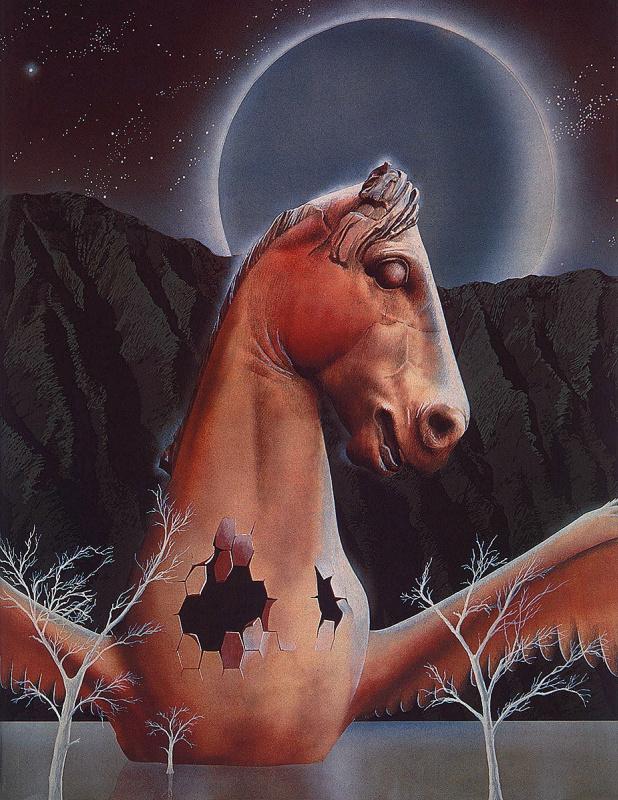 Джим Бернс. Лошадь