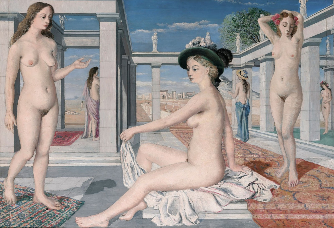 Paul Delvo. Courtesans or a tribute to Venus. 1944