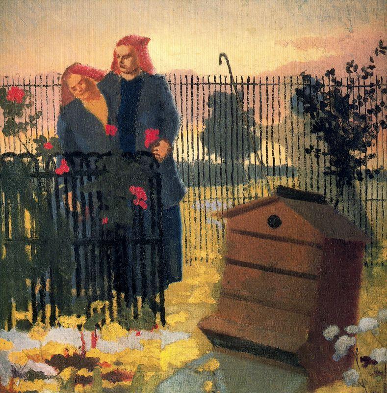 Stanley Spencer. Fence