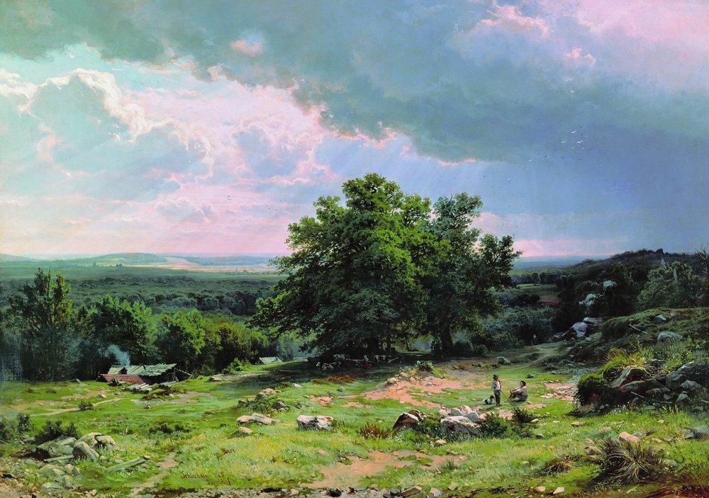 Ivan Shishkin. View near Dusseldorf