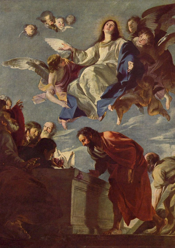 MATEO Cerezo Jr.. Assumption Of The Virgin Mary