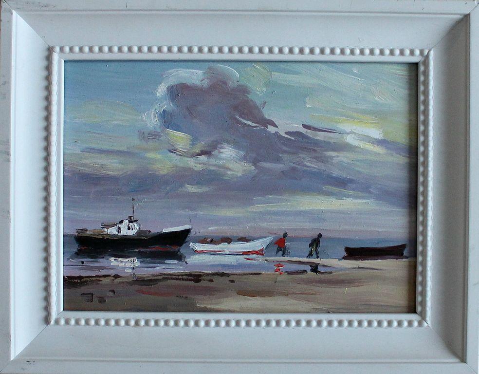 Nikolay Gennadievich Ivanov. Gulf shore