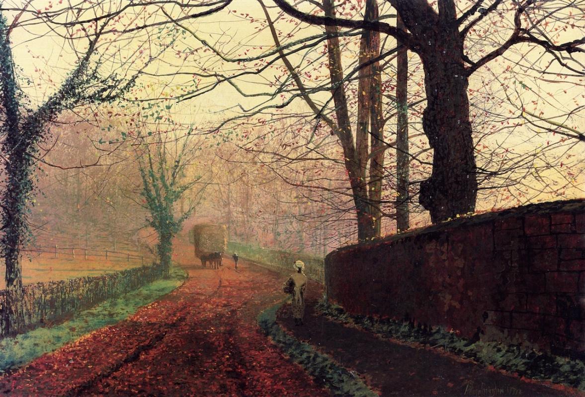 John Atkinson Grimshaw. Stapleton Park, Leeds