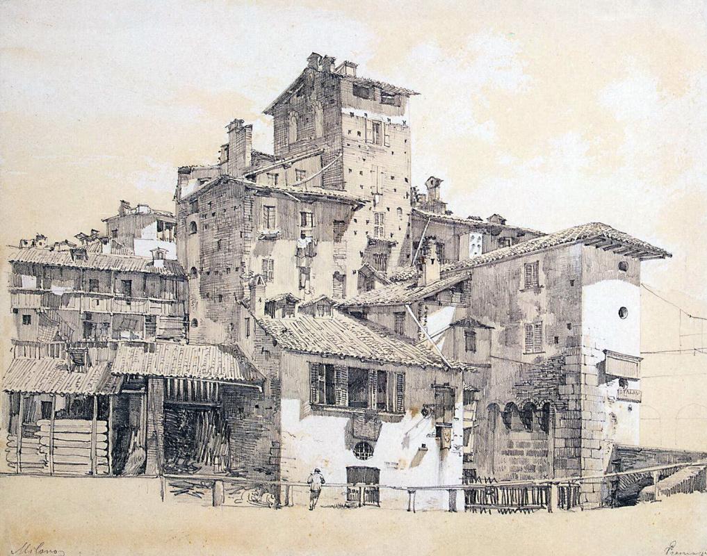 Луиджи Премацци. Трущобы Милана