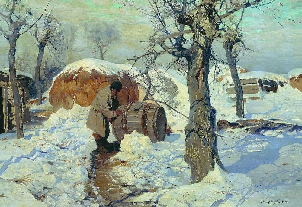 Stepan Fedorovich Kolesnikov (Odessa). Spring. March.