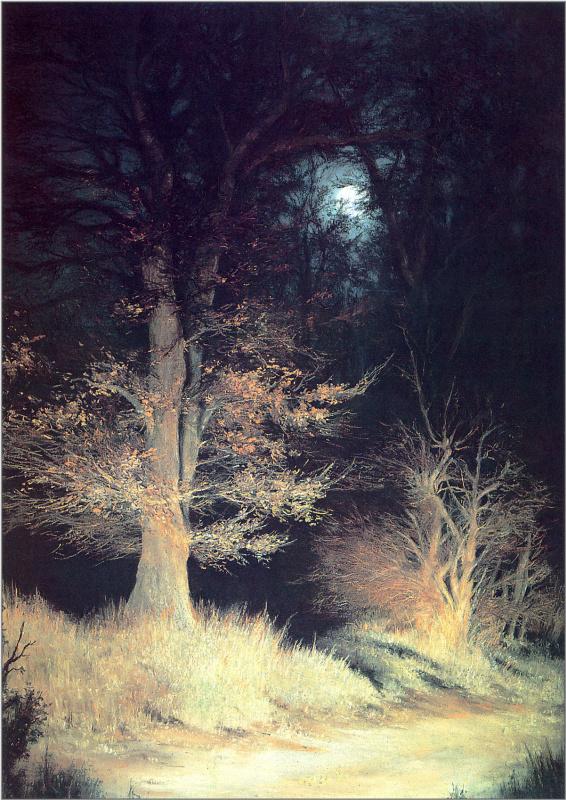 Анна Садворс. Ночь в лесу