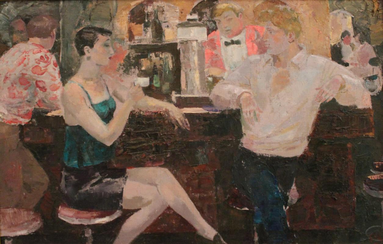 Valery Yurevich Pustoshkin. Do you want champagne