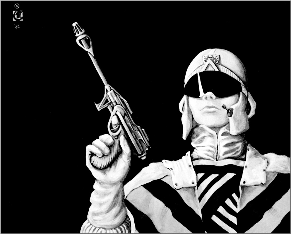 Давид Черри. Женщина с оружием