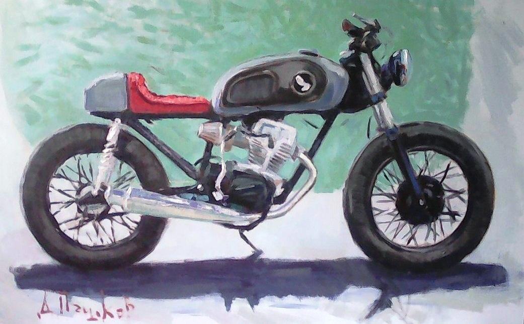 Dmitry Pashkov. Honda