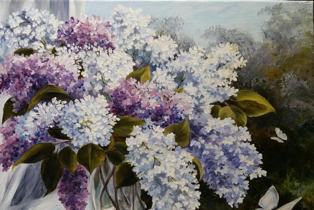 Madina Hasanovna Bottaeva. Lilac