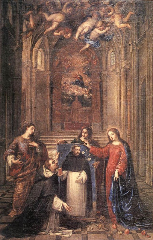 Антонио де Переда. Св. Доминик
