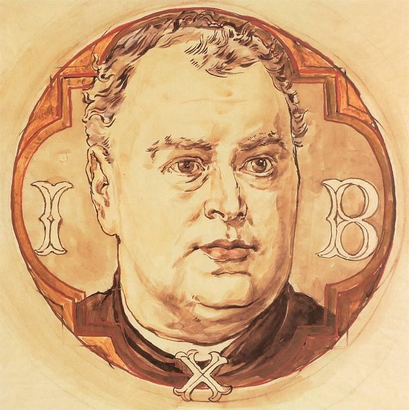 Jan Matejko. Portrait of the priest Julian Bukowski for the Church of St. Mary