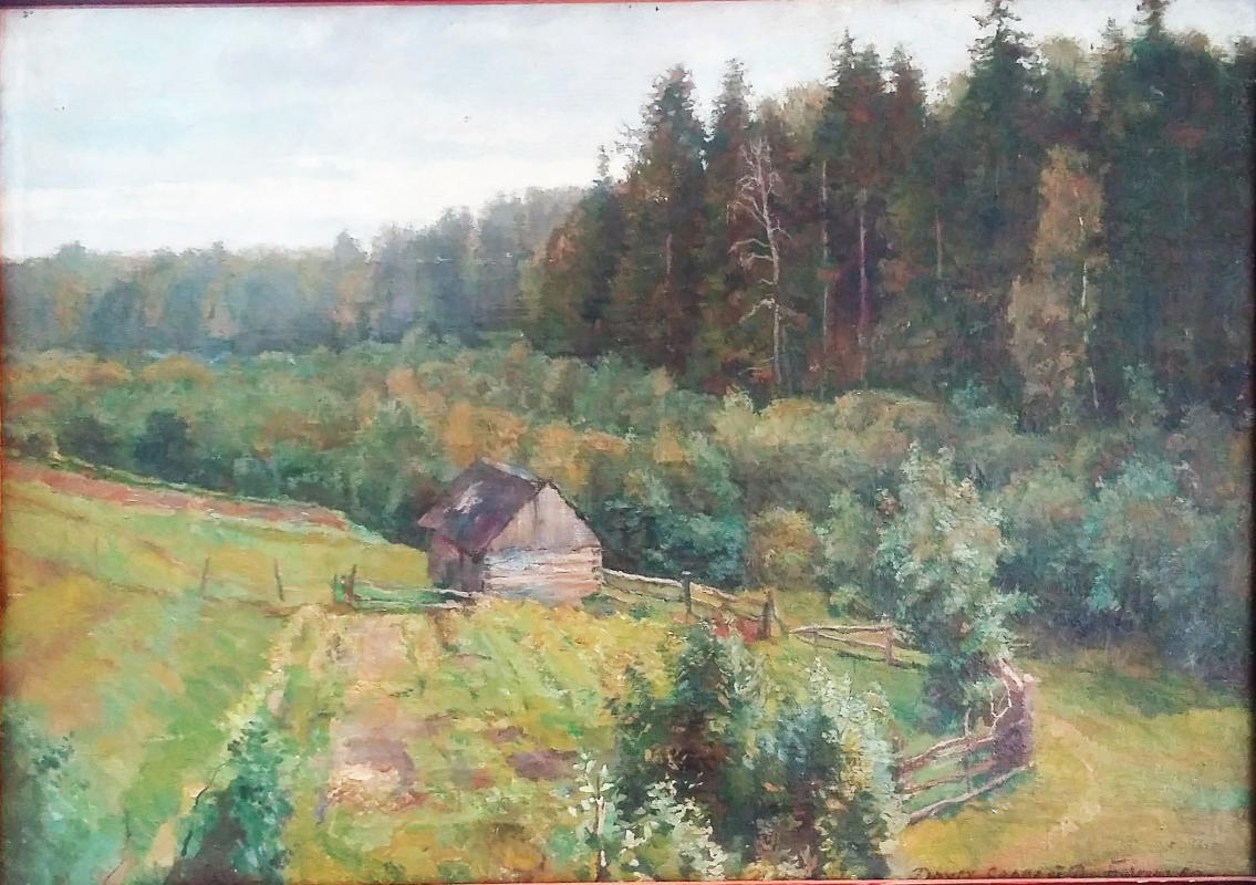 Dmitry Petrovich Buchkin. Hut on the edge