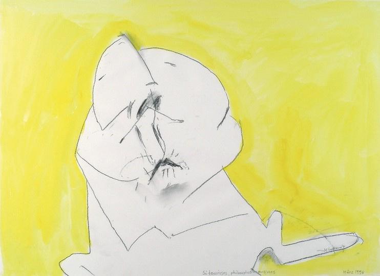 Maria Lassnig. Restraint