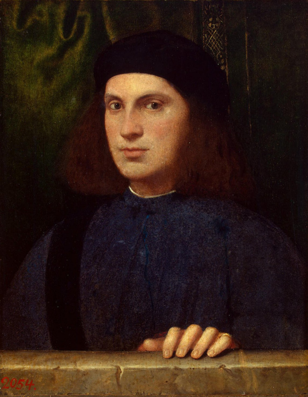 Бонифацио Веронезе. Портрет молодого человека