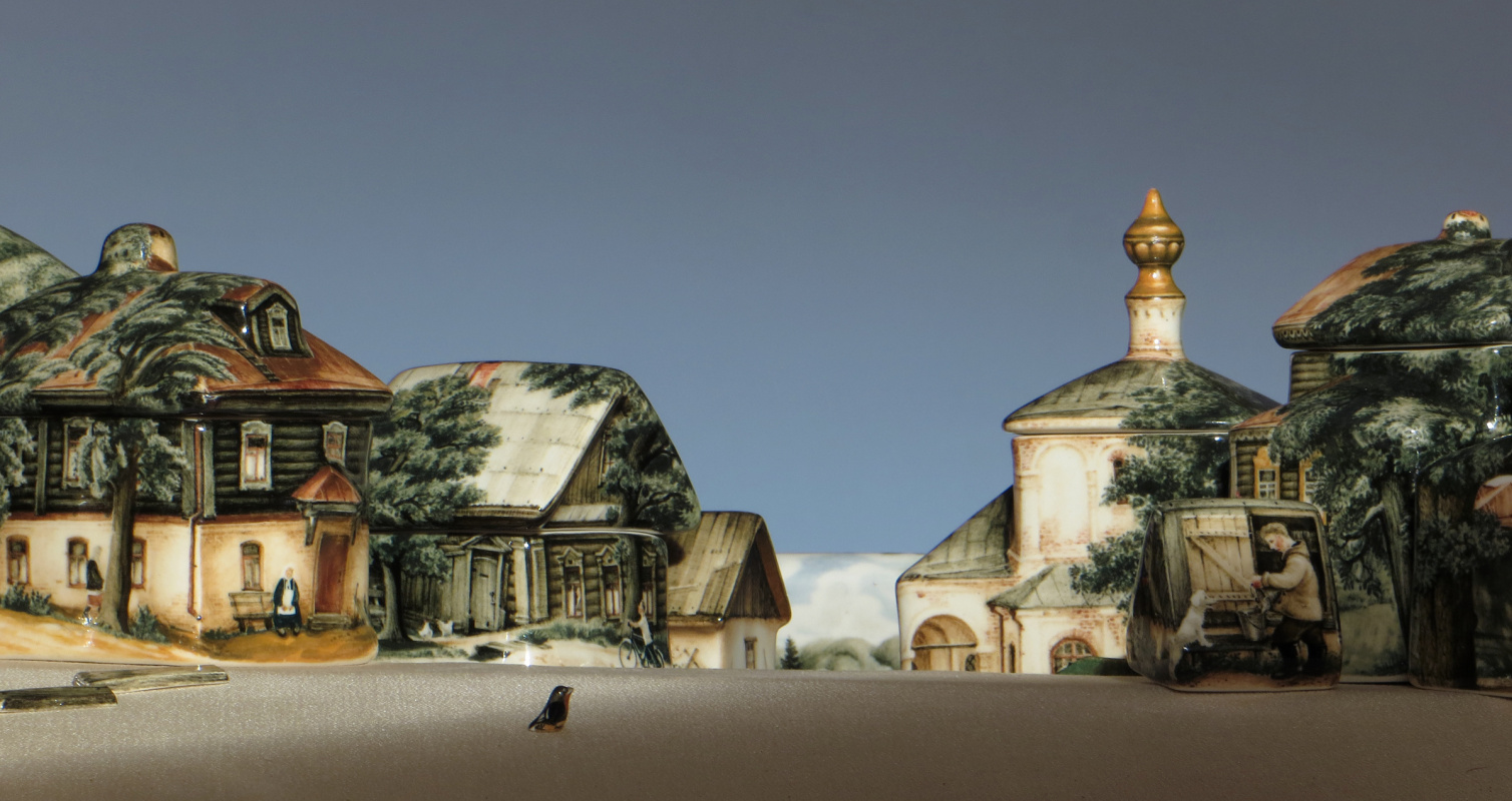 "Andrey Borisovich Cherkasov. Plot from the collection ""Manor. Summer"""